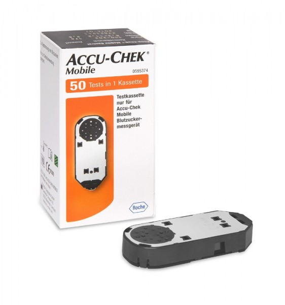 Accu-Chek® Mobile Inhalt eine Testkassetten