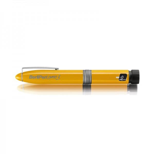 BerliPen® areo 3 gelb Insulinpen 3 ml 1er Schritte
