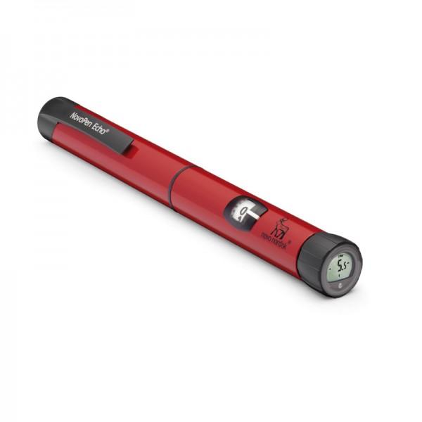 NovoPen Echo® rot Insulinpen 3 ml 0,5er Schritte