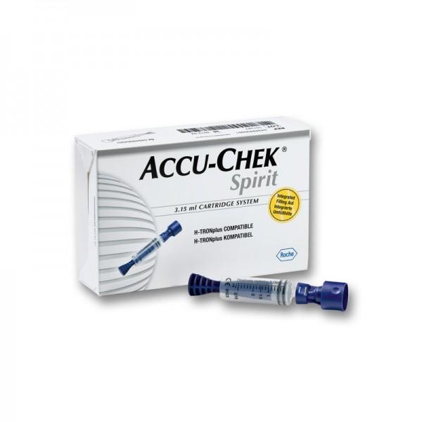 Accu-Chek Spirit 3,15-ml-Ampullensystem Inhalt 5 Stück