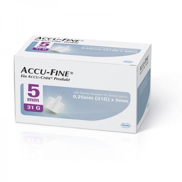 Accu-Fine® Pennadeln 0,25 mm (31G) /5 mm