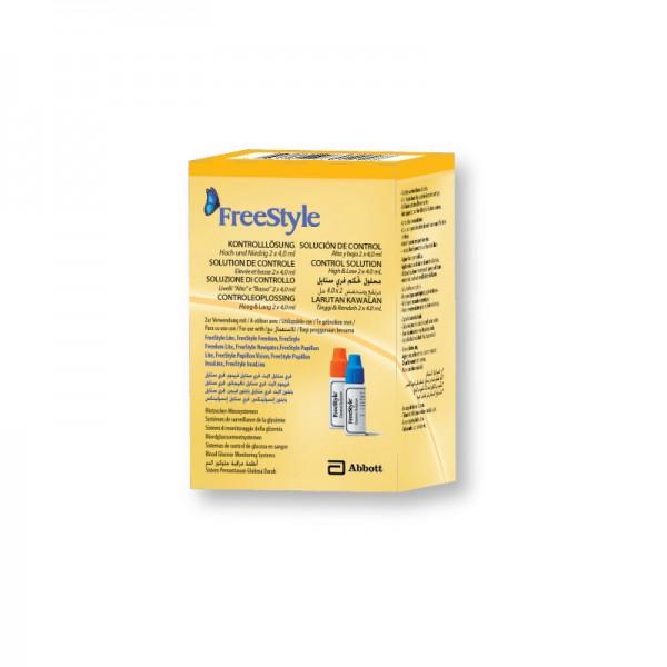 FeeStyle Kontrolllösung hoch + niedrig 2 x 4 ml