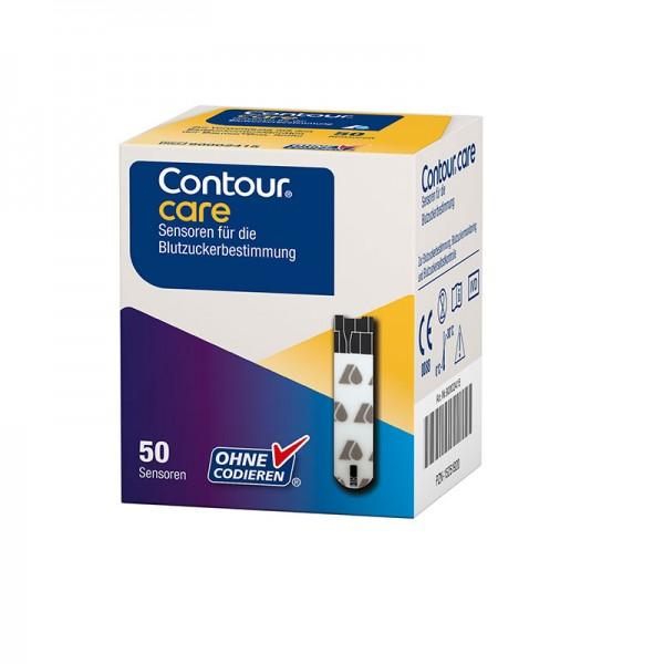 CONTOUR®CARE Sensoren 50 St. Verpackung