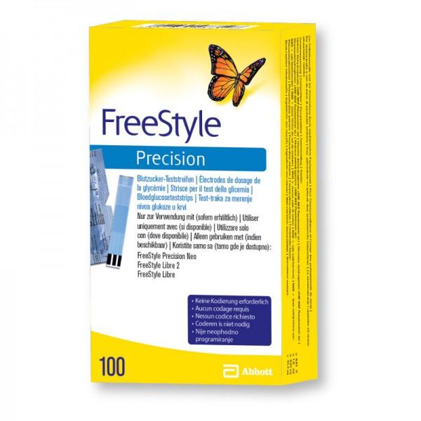 FreeStyle Precision Blutzuckerteststreifen 100 Stk.