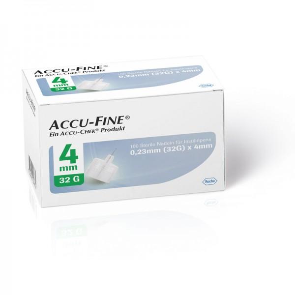 Accu-Fine® Pennadeln 0,23 mm (32G) /4 mm