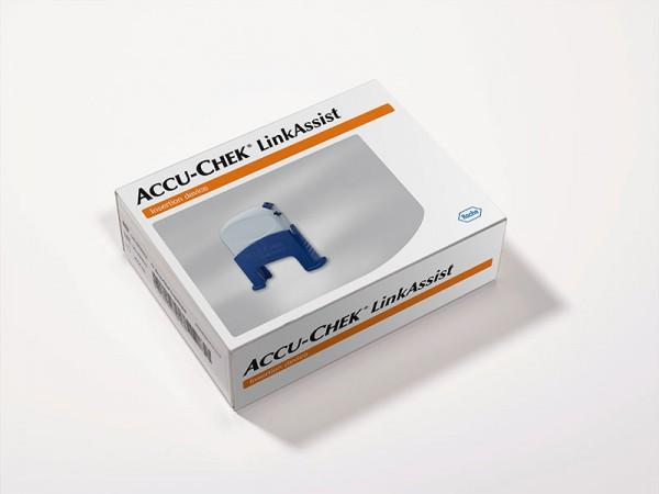 Accu-Chek® LinkAssist Setzhilfe Verpackung