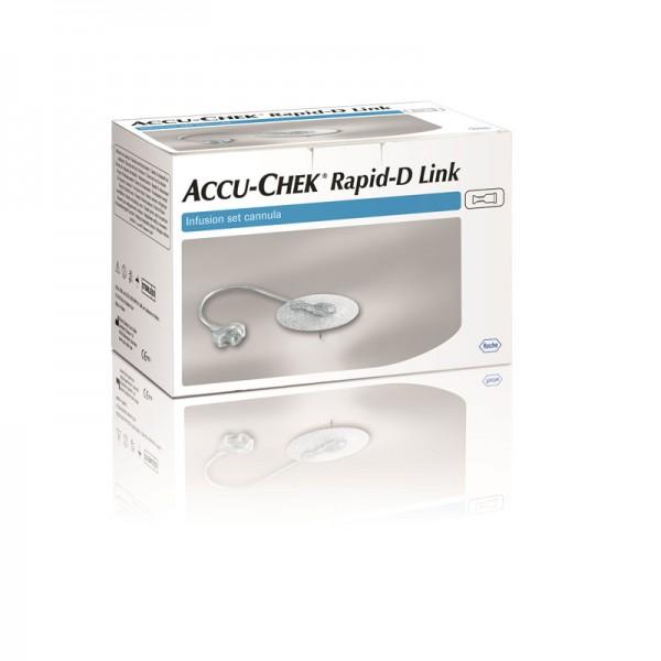 Accu-Chek® Rapid-D Link Kanüle 10 mm Inhalt 25 Stück
