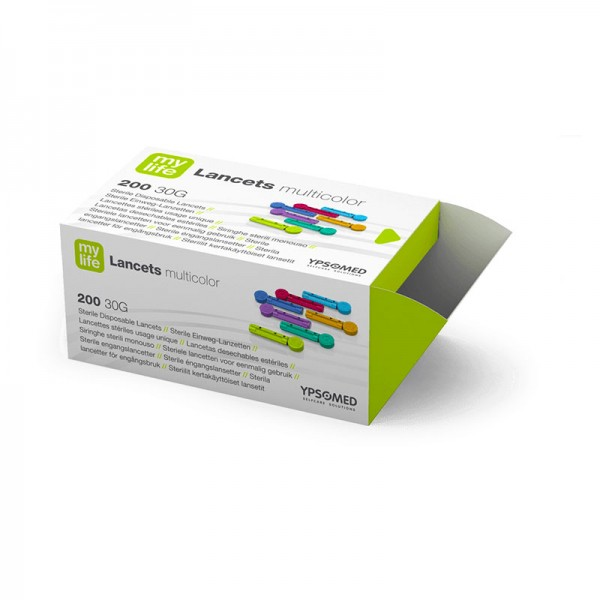 mylife™ Lancets multicolor 30G Lanzetten Verpackung