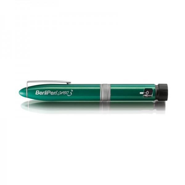 BerliPen® areo 3 grün Insulinpen 3 ml 1er Schritte
