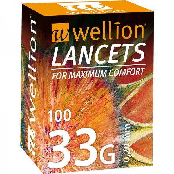 Wellion 33G Lanzetten 100 Stk.