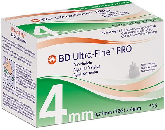 BD Micro-Fine Ultra™ Pro Pen-Nadeln 4 mm