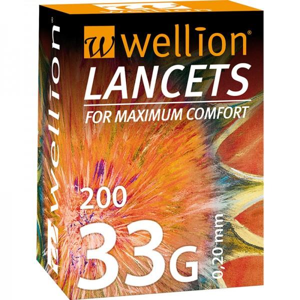 Wellion 33G Lanzetten 200 Stk.