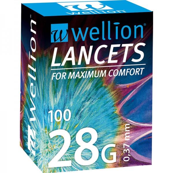 Wellion 28G Lanzetten 100 Stk.