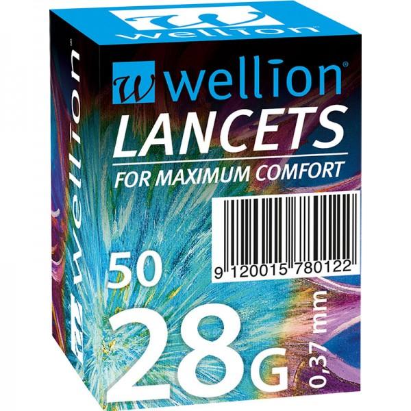 Wellion 28G Lanzetten 50 Stk.