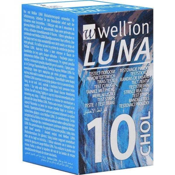 Wellion LUNA Cholesterinteststreifen 10 Stück