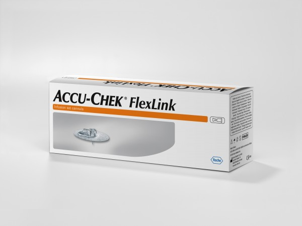 Accu-Chek®FlexLink Teflonkanüle 8 mm Inhalt 10 Stück