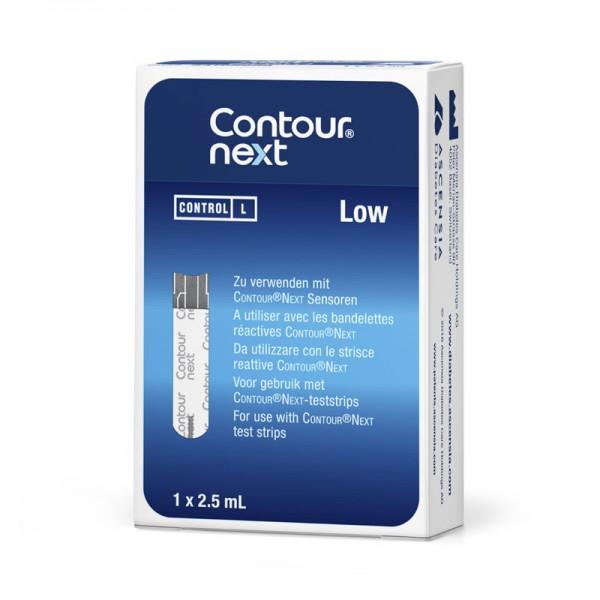 CONTOUR® NEXT Kontrolllösungen Niedrig Verpackung