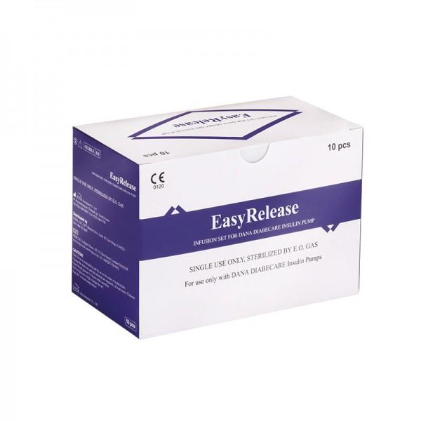 Easy-Release Universal Stahlkatheter Set Verpackung