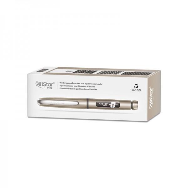 AllStar® Insulinpen silber 3 ml 1 er Schritte Verpackung