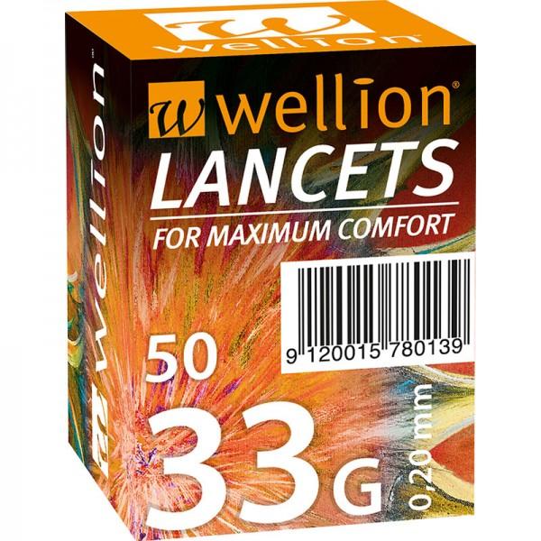 Wellion 33G Lanzetten 50 Stk.